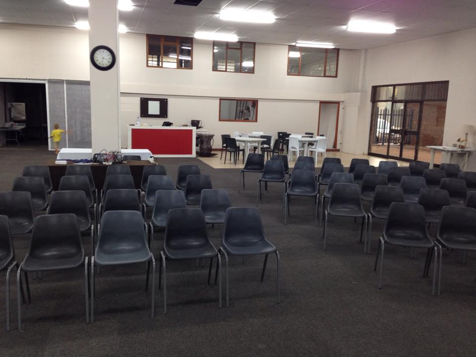 Our New Venue is ready!
